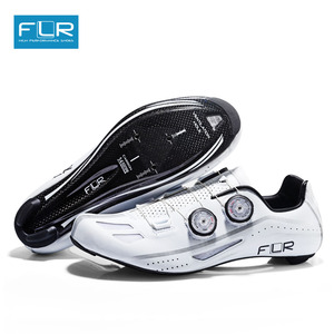 Image 2 - FLR Road Professional Road Bike SPD Carbon Cycling Shoes Racing Shoes  Fiber Road Bike Shoes Athletic Bicycle Sports Shoes FXX