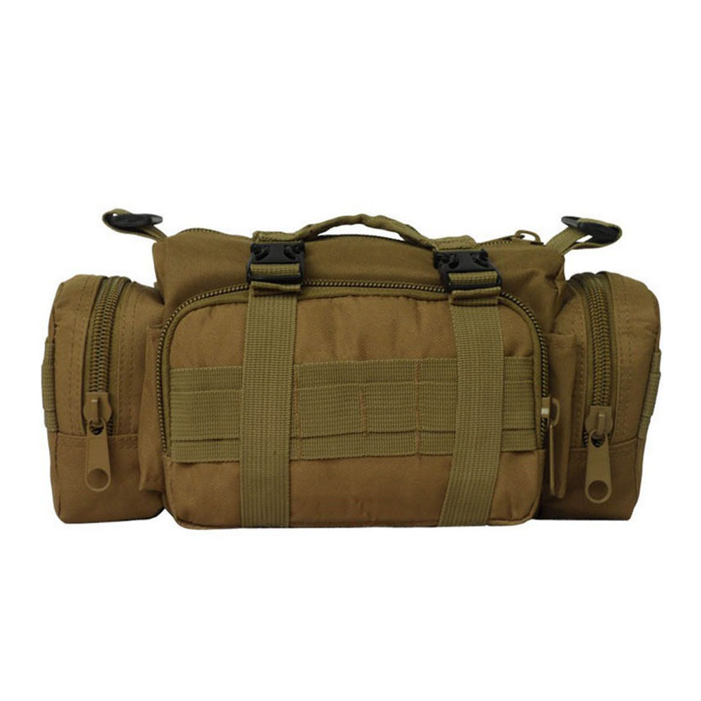 Outdoor Oxford Cloth Adjustable Strap Camera Storage Waist Bag Cycling Single Shoulder Portable Camouflage Sports Multi Pockets
