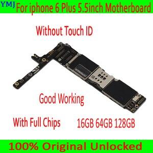 Image 2 - Có/Không Có Cảm Ứng ID Cho Iphone 6 Plus, năm 100% Ban Đầu Mở Khóa Cho Iphone 6 Plus Mainboard Với Đầy Đủ Chip