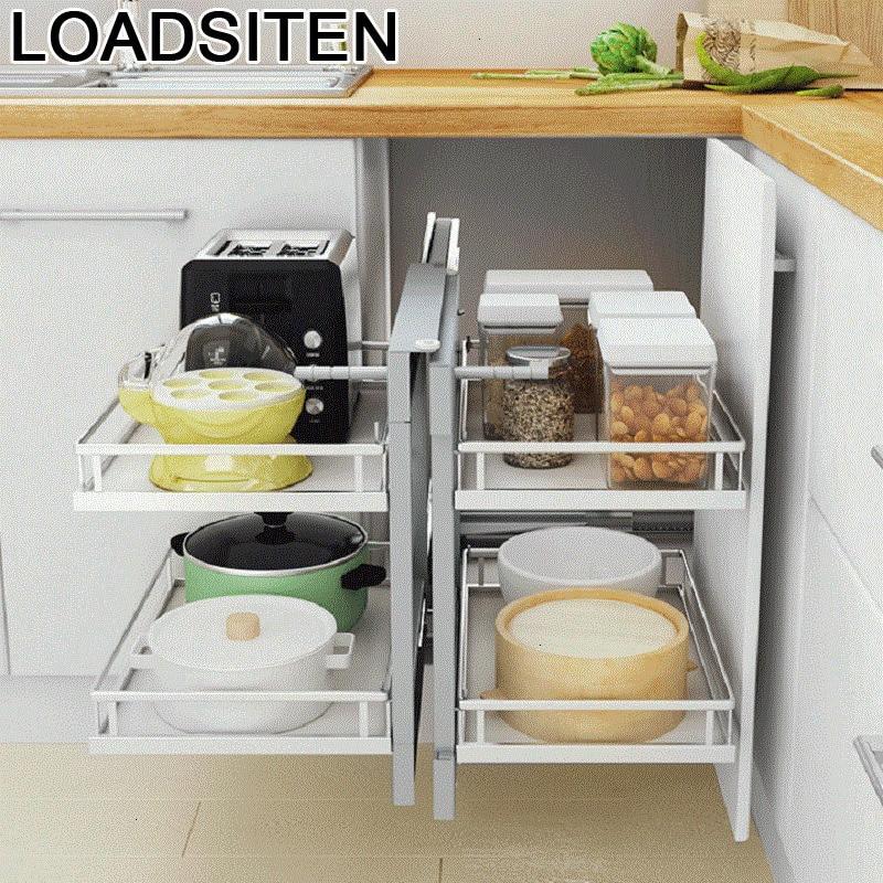 Par Colgar En de La Ducha Organizador Cocina Rangement Keuken Accessoires Cucina Cellier Organisateur de Cuisine Armoires De Cuisine Panier