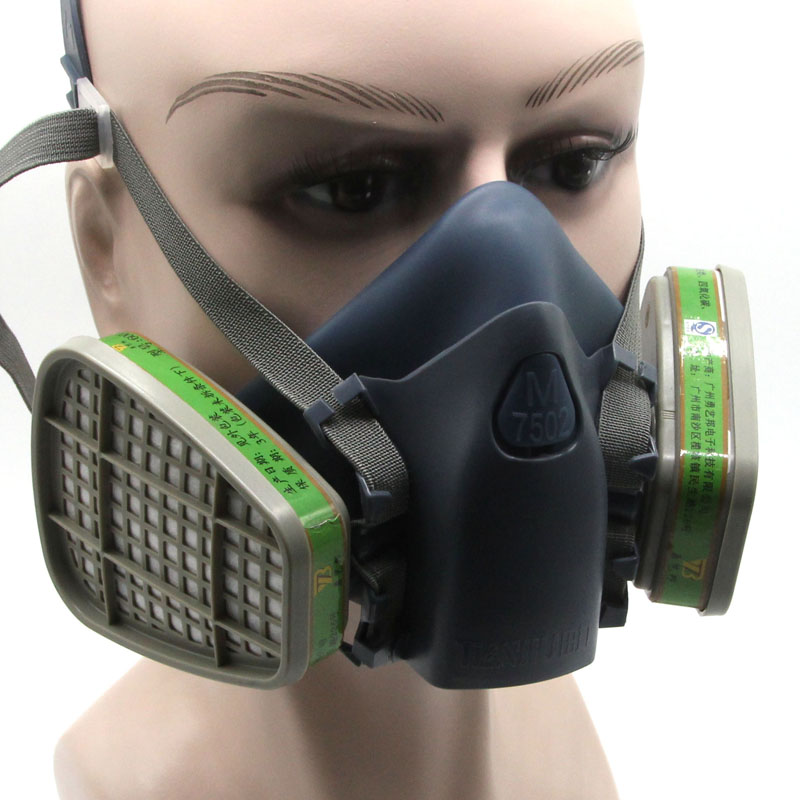 Gas Mask Respirator Chemical Spray Special Anti-dust Pesticide