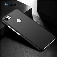 Funda de plástico duro para teléfono móvil, cubierta completa de lujo mate para Google Pixel 3XL 3 2, 2 y 3 bolsas