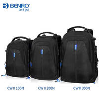 Benro CW II 100N 200N 300N Professional Laptop Backpack Waterproof DSLR Camera Bag Protection Type Digital Camera Bag