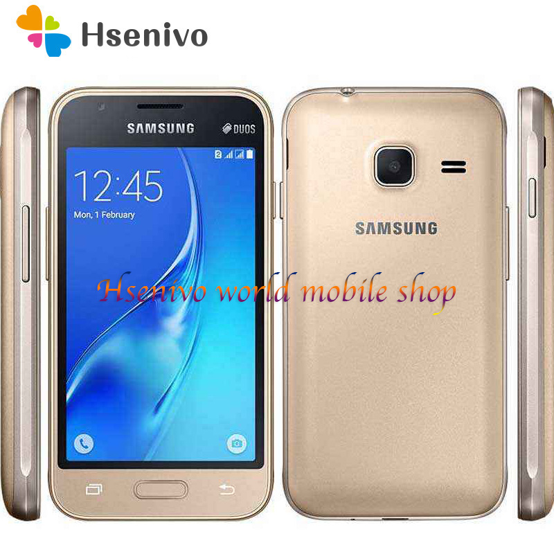 <font><b>Samsung</b></font> <font><b>Galaxy</b></font> <font><b>J1</b></font> <font><b>Mini</b></font> (2016) <font><b>SM</b></font>-<font><b>J105H</b></font> cell phone 8GB ROM Dual sim card Wifi GPS Quad Core 4.0