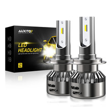 AUXITO H7 LED H4 Headlight Bulbs H11 9005 9006 CSP Chips 9600LM Car Led Auto Headlamp for BMW E36 E30 E60 E70 E46 F01 G30 Z3(China)