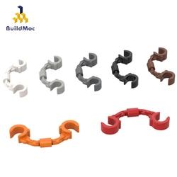 BuildMOC Compatible Assembles Particles 61482 Handcuffs Building Blocks Parts DIY LOGO Educational Creatives gift Toys