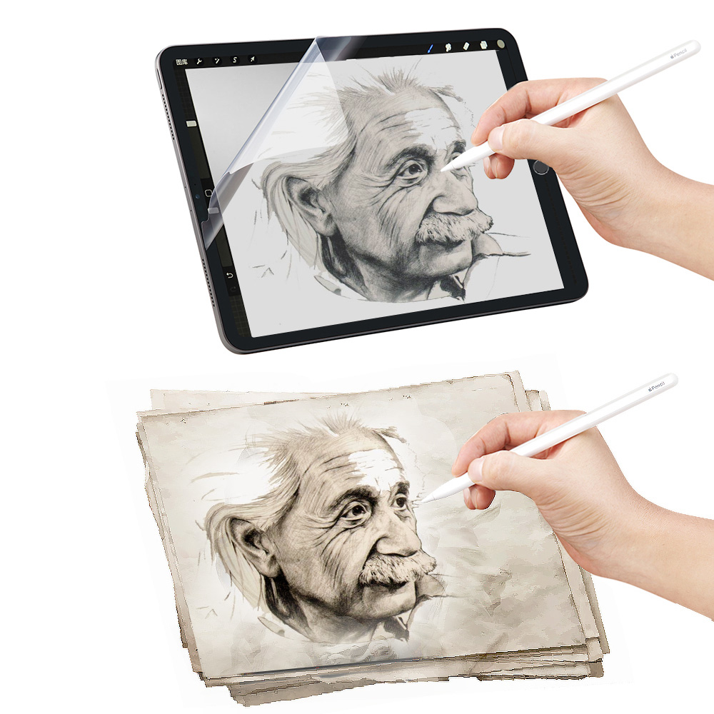 Paper Like Film Matte PET Anti Glare Painting For IPad 9.7 New 10.2 Air 3 Pro 11 10.5 Mini 5 Face ID 12.9 Inch Screen Protector