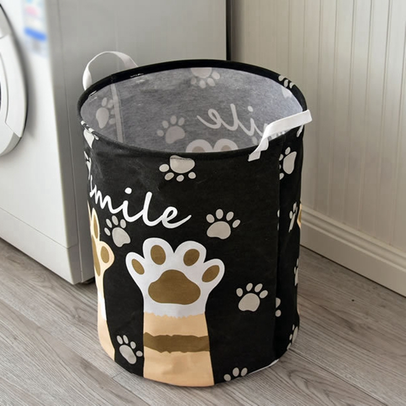 Cartoon Storage Bucket Toys Storage Basket Large Waterproof Clothes Laundry Baskets Well-made And Durable X