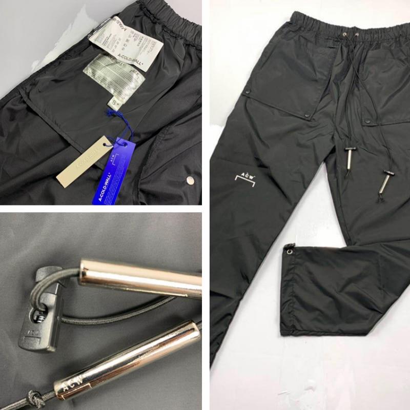 A COLD WALL ACW Pants Men Women Joggers Streetwear 1:1 Pantalones Hombre Harajuku Trousers Track Joggers A COLD WALL Pants