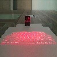 Teclado láser Bluetooth teclado de proyección Virtual inalámbrico portátil para Iphone Android teléfono inteligente Ipad Tablet ordenador portátil