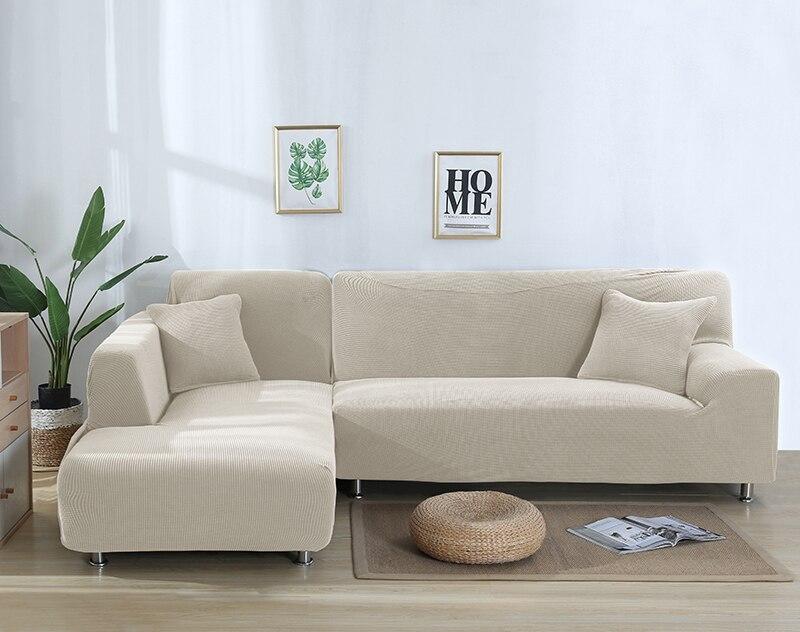 sólida slipcover canto sofá para sala de
