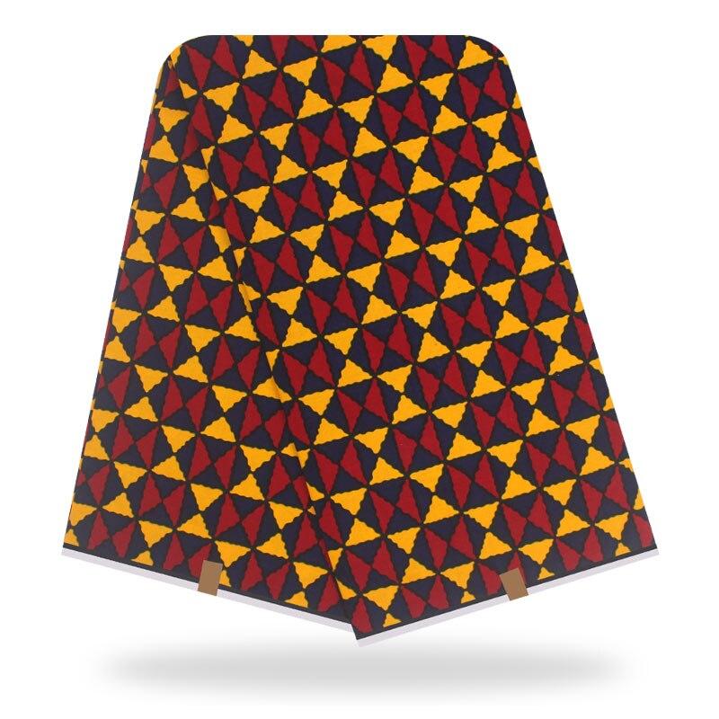 2020 Original Real Wax African Print Fabric For Wedding Dress Tissue African Fabric 100% Cotton Ankara Fabric Wax Fabric