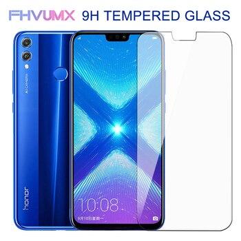 Перейти на Алиэкспресс и купить 9H твердое Защитное стекло для Huawei honor 8X 8A 8C 8S 9X 10i Защита экрана для Honor 10 20 Lite V10 V20 V30 закаленное стекло