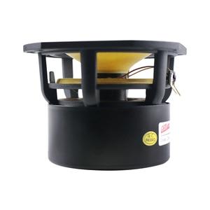 Image 3 - Ghxamp 4 inch Full Range Speaker 4ohm 25W Hifi Full Frequency Loudspeaker HomeTheatre 91DB Bullet Rubber Edge Cast Aluminum 1pc