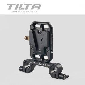 Image 5 - Piastra batteria v mount tasca inclinabile per fotocamere DSLR V piastra di montaggio TA PBP V