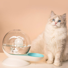 2.8L Snails Bubble Automatic Cat Dog Water Bowl Fountain For Pets Water Dispenser Large Drinking Bowl Cat Drink No Electricity