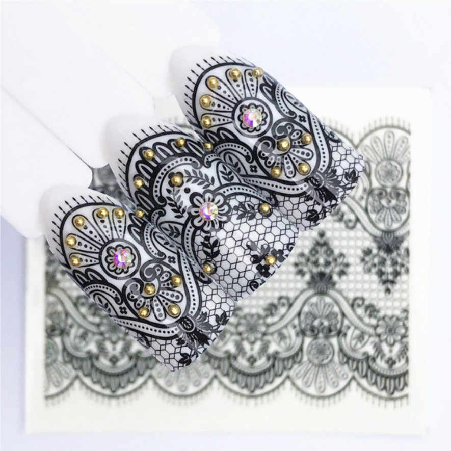 1Pcs Fashion Lace Netting DIY Nail Art Nail Rhinestone Small Irregular Beads Manicure 3D Nail Art Decoration In Wheel Accessorie