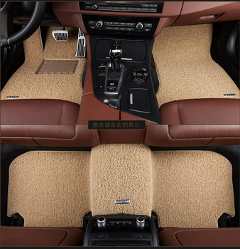 Custom Durable Wire Loop Mats Car Floor Carpets for Mercedes Benz GLK300 GLA200 E260 C180L C200 S/C/GLE/CLA/GLS/G/R/A