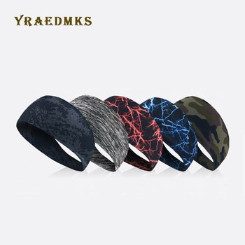 Yraedmks Sports hair with sweat guide with Lycra breathable running cycling yoga dance fitness antiperspirant belt