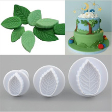 Mold Biscuit-Cutter Plunger Pastry-Cake-Tools Decorating-Sugar Cookie Leaf Fondant Craft