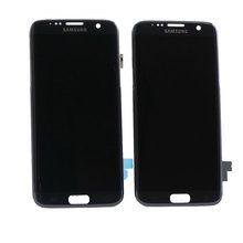 Original LCD For Samsung Galaxy S7 Lcd Display S7 Edge G935 G935F G935fd phone LCD Digitizer Touch Screen With Frame Screen best quality for samsung galaxy s7 edge g935 lcd display touch screen with digitizer assembly replacement free shipping