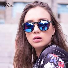 Classic Polarized Round Sunglasses For Women Men Mirror Tinted Circle Lens Vintage Designer Style Sun Glasses Shades цена 2017
