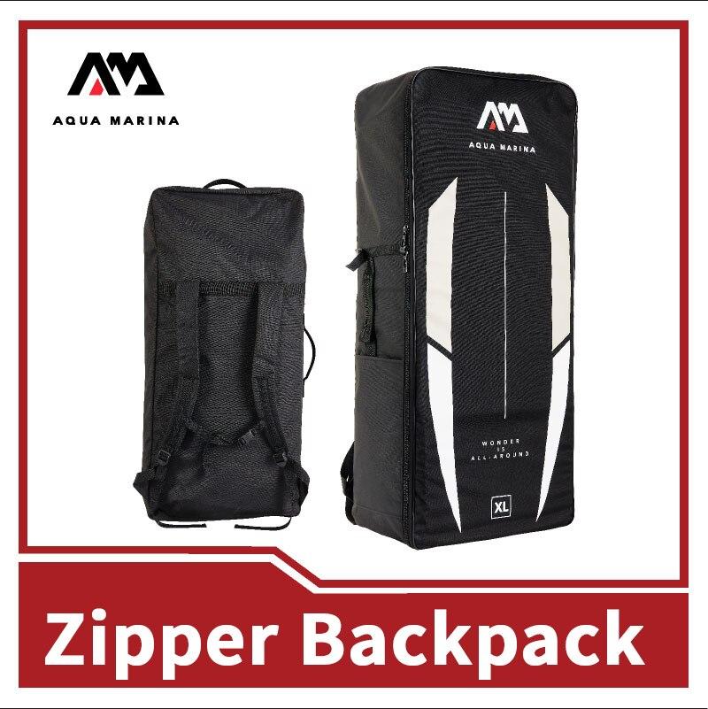 AQUA MARINA Big Capacity Oars Storage Bag 5 Sizes Zipper Waterproof Backpack Aquatic Sports Accessories Canoe Surfing Drift Bag