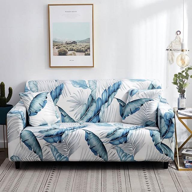 Купить 1 шт чехол для дивана эластичный с цветочным принтом линия стиль картинки цена