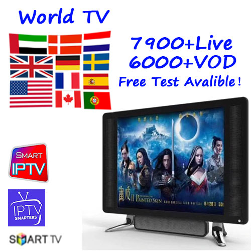 Ott Plus IP FR TV Europe Canada Morocco Netherlands Belgium Germany Sweden Turkey M3U smart tv Android Pc TV no box