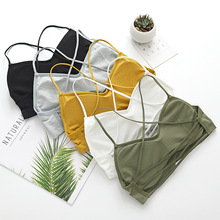 Tube-Top Camis Lingerie Top-Tank Bandeau Seamless Streetwear Sexy Women Female