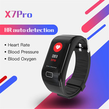 Multifunctional smart watch Intelligent Bracelet Heart Rate and Blood Pressure Monitoring Waterproof Motion Meter Walking