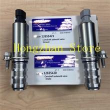Intake & Exhaust Camshaft Posição Solenóide Atuador 12628347 12628348 Para Buick LaCrosse regal Chevrolet GMC Pontiac Saturno
