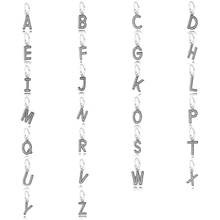 2019 high quality 26-person Letter Swing With Cubic Zirconia Charm With Birthday Pendant Gift