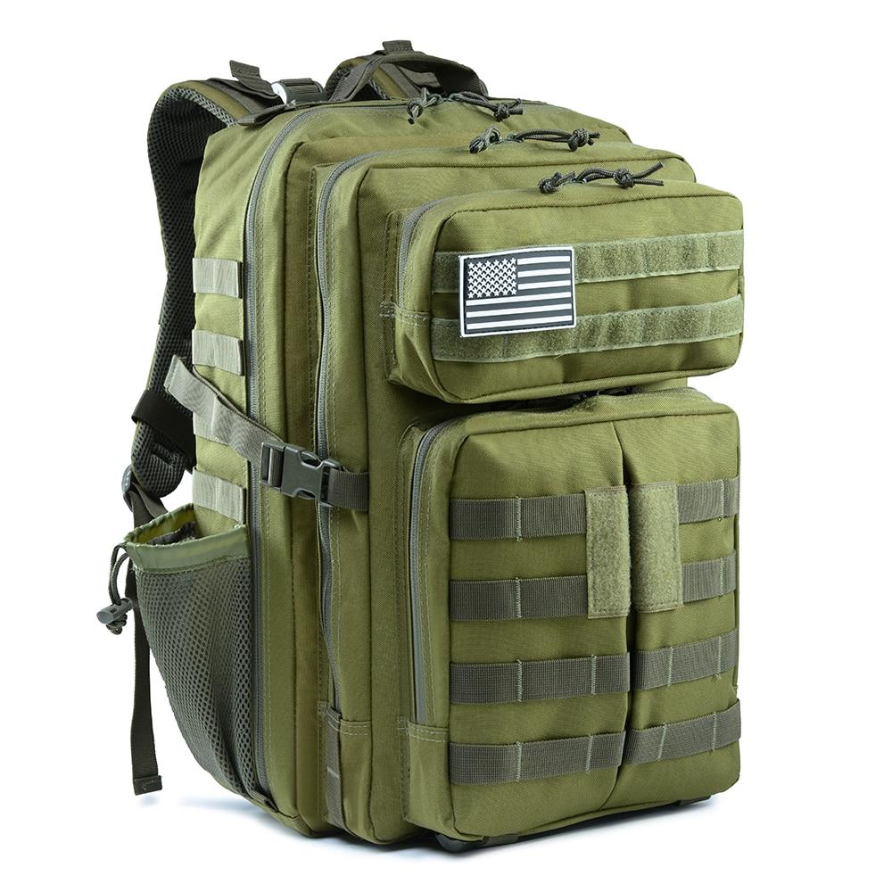 Waterproof 45l Army Backpack Men Military Tactical Bag Outdoor Travel Rucksack Assault Tactical Backpack Military Camo 3P Bag