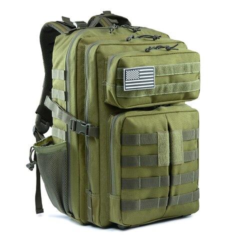 a prova dwaterproof agua 45l exercito mochila homens militar tatico saco de viagem ao ar