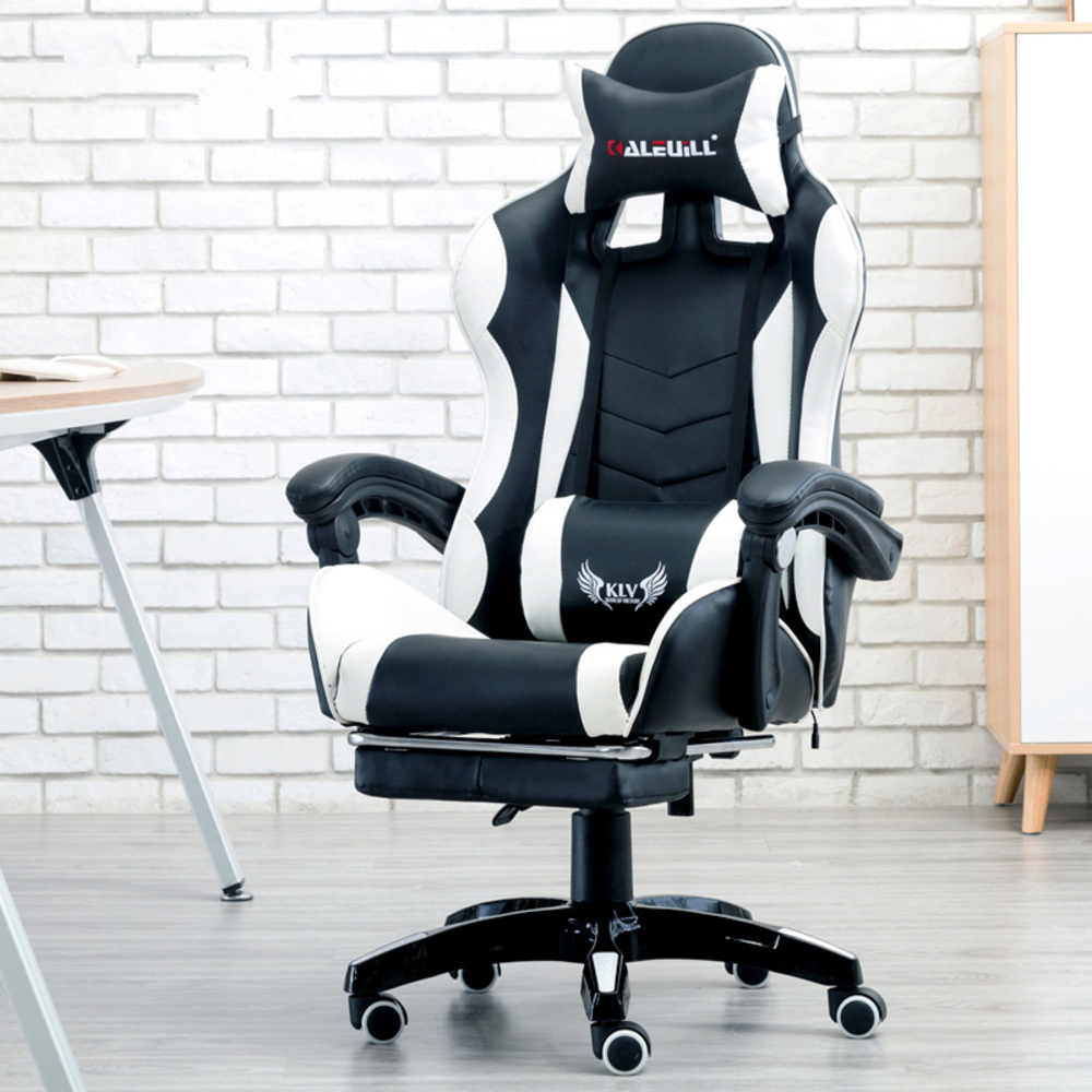 Internet Electronics Sports Tennis Bows Computer Game Stool Gaming Office Ergonomic Kneeling Chair Lie Synthetic Leather RU
