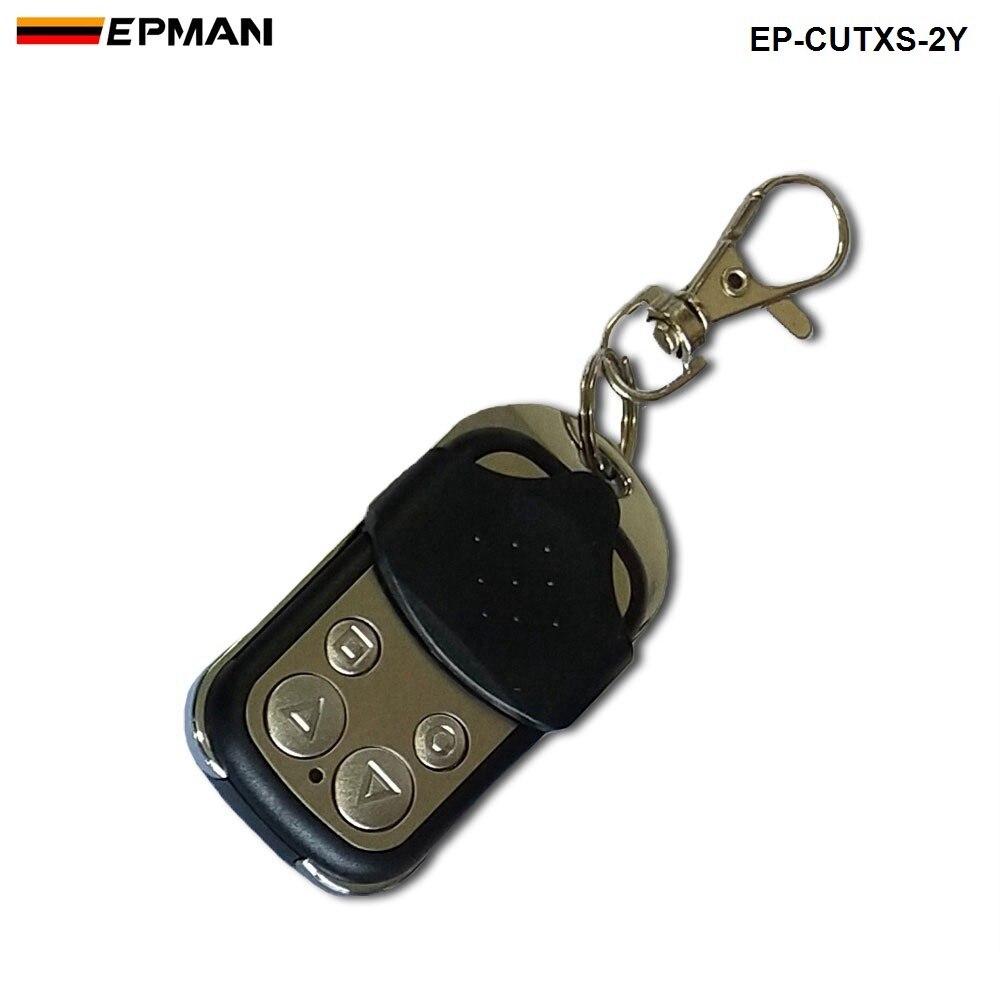 Беспроводной пульт дистанционного управления и тумблер для выхлопного глушителя электрический клапан вырез системы самосвал для сиденья EP-CUTXS-2Y