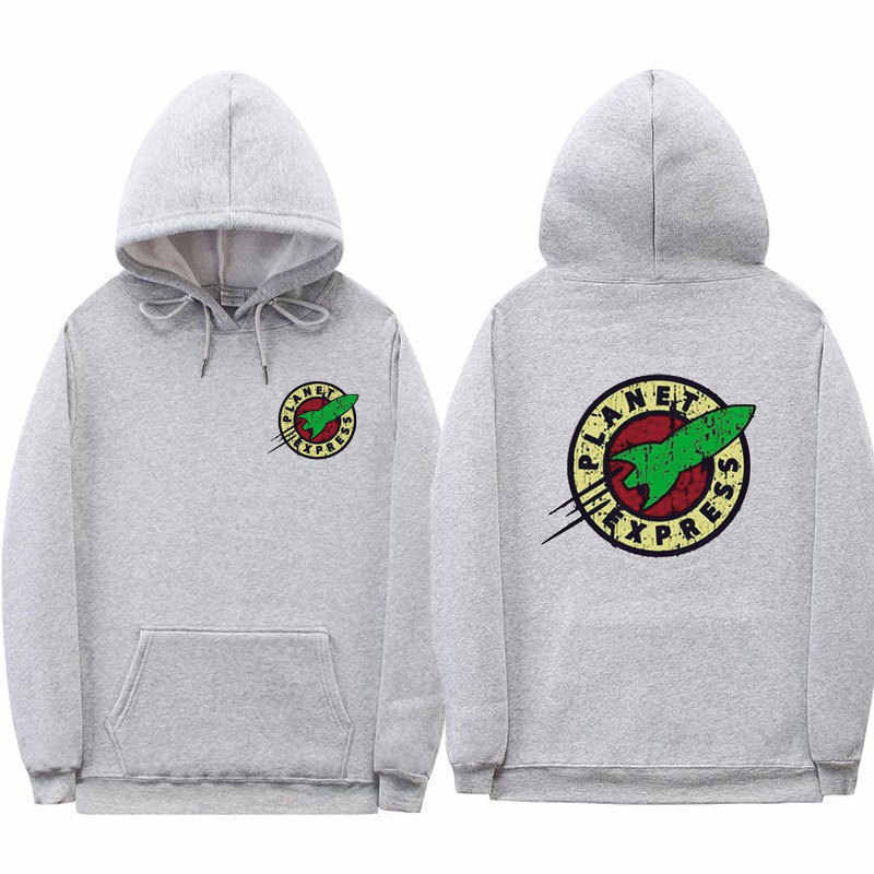 Futurama Planet Express Delivery Print Hoodies Unisex Sweatshirt Graphic Hoody