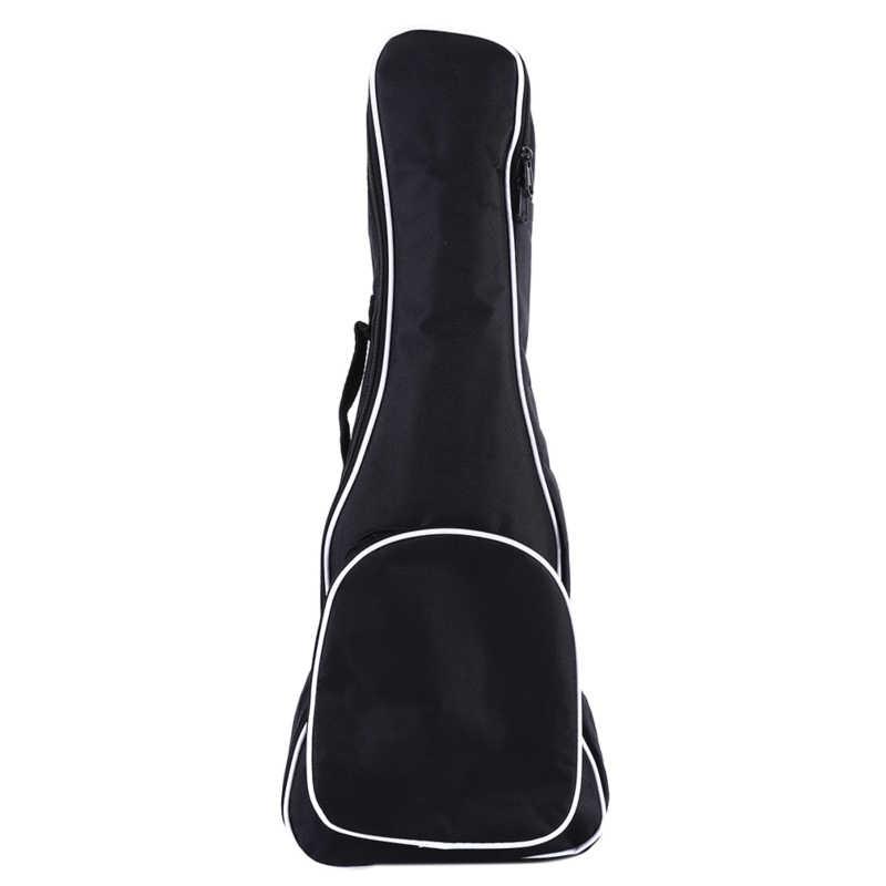 21/23/26 Zoll Oxford Stoff Akustische Gitarre Tasche Weiche Fall Doppel Schulter Gurte Gepolstert Gitarre Wasserdichte Rucksack Baumwolle