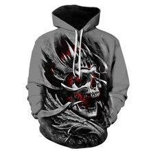 Hot Skull 3D Hoodies Skull Hoodie Men Women Sweatshirts Hipster Hip Hop Skull Sportswear Tracksuits