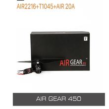 T-MOTOR engrenagem de ar 450 combo 2216 kv880 motor + t1045 para princípios rc edu drone e mostrar