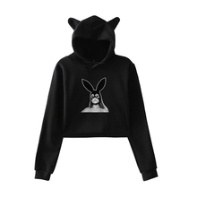 купить Hot Ariana Grande Print Hoodies Women Sweatshirt Harajuku Hooded Long Sleeve Autumn Tops Crew Neck Hooded Clothing 2019 дешево