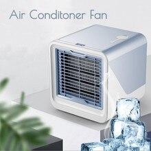 Minienfriador de aire portátil USB, purificador, humidificador, ventilador de refrigeración de aire de escritorio, para oficina, novedad, envío directo
