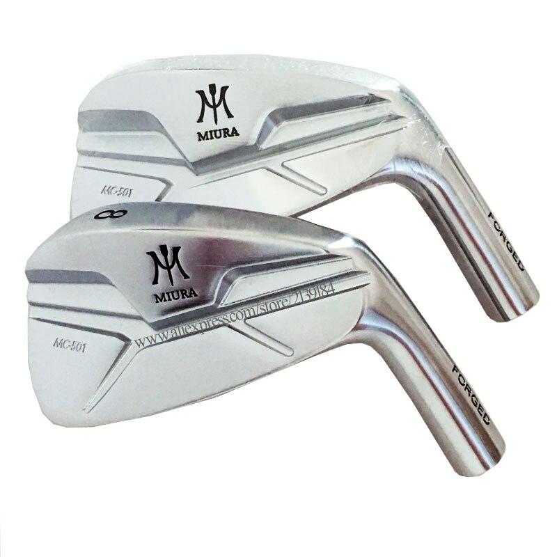 新しいメンズゴルフヘッドミウラCB-501フォージドアイアンクラブヘッドセット4-9.Pゴルフアイアンヘッドなしゴルフシャフト送料無料Клюшкадлягольфа