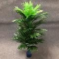 Тропические растения 90 см, большие искусственные пальмы, шелковые Пальмовые Листья, высокие искусственные ветки дерева без кастрюли, для до...