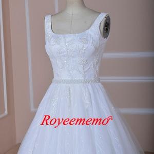 Image 2 - Vestido de Noiva special lace design wedding dress vest top design wedding gown wholesale price bridal dress factory directly