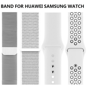 GT ACTIVE/CLASSIC Woven Nylon Loop Strap For HUAWEI GT2 46mm WATCH GT 2 Band Bracelet Wristbands For HONOR Magic Watchband leather bracelet watchband wrist band for honor magic for huawei watch gt 2e gt2 46mm bracelet strap for huami amazfit gtr 47 mm