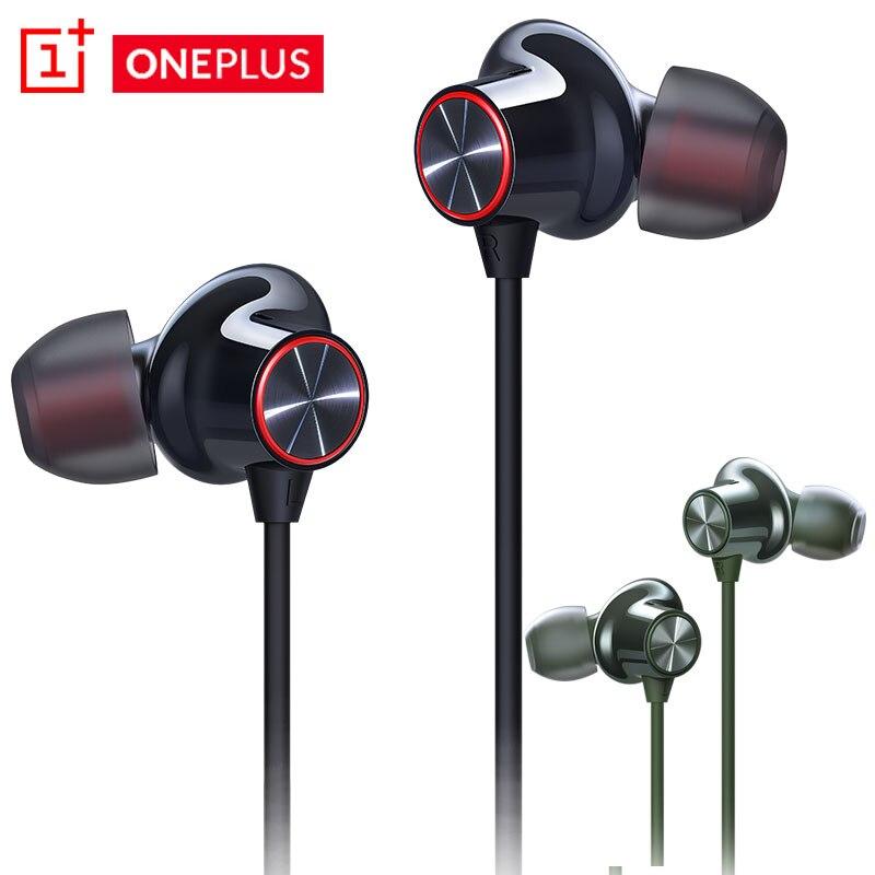 Original OnePlus Bullets 2/Z Wireless Bluetooth Earphones  Headset One Plus Handphones For Oneplus 1+ 6 6T 7 7Pro 7T Pro 8 8pro