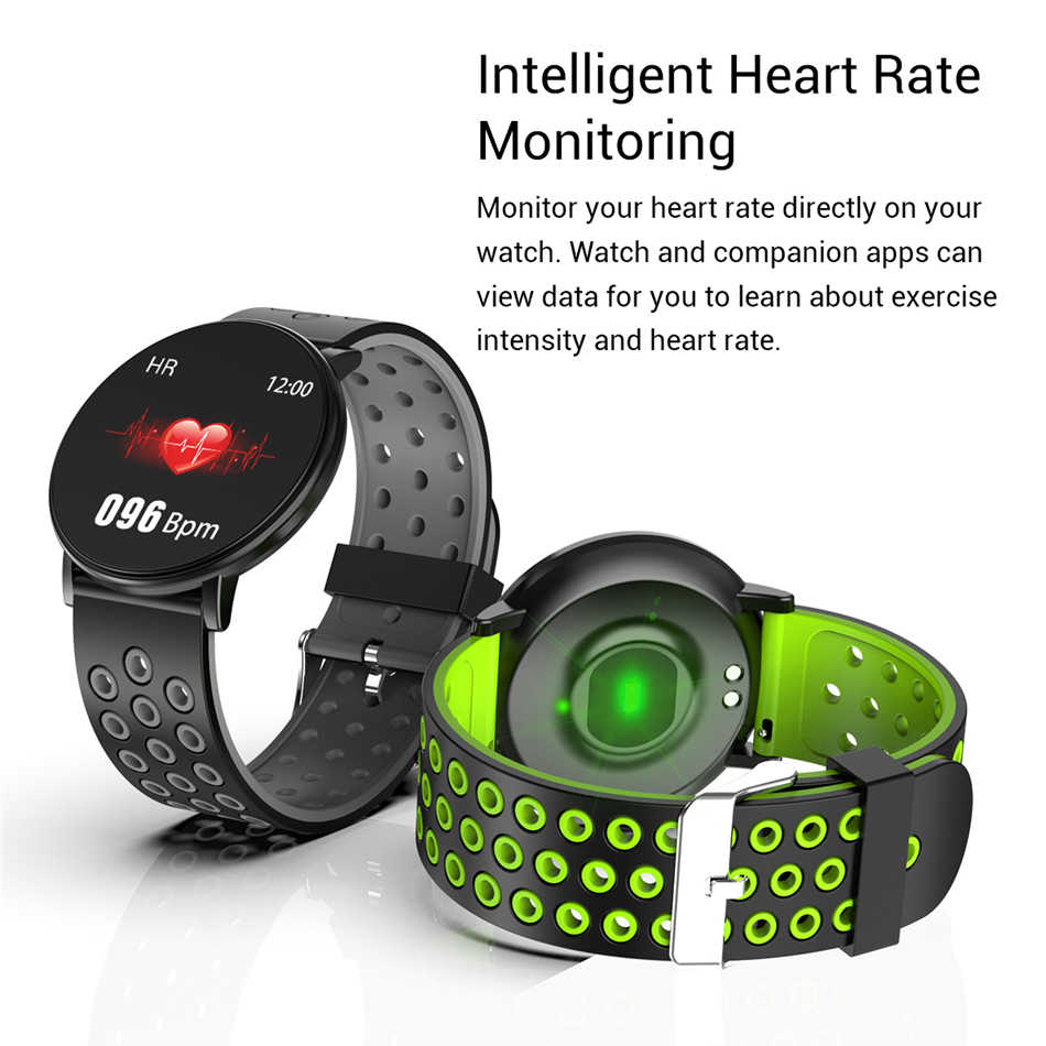 GEJIAN Nieuwe Smart Horloge Android Waterdichte Sport mannen en Vrouwen smartwatches Remote Camera Hartslag Bloeddruk horloge
