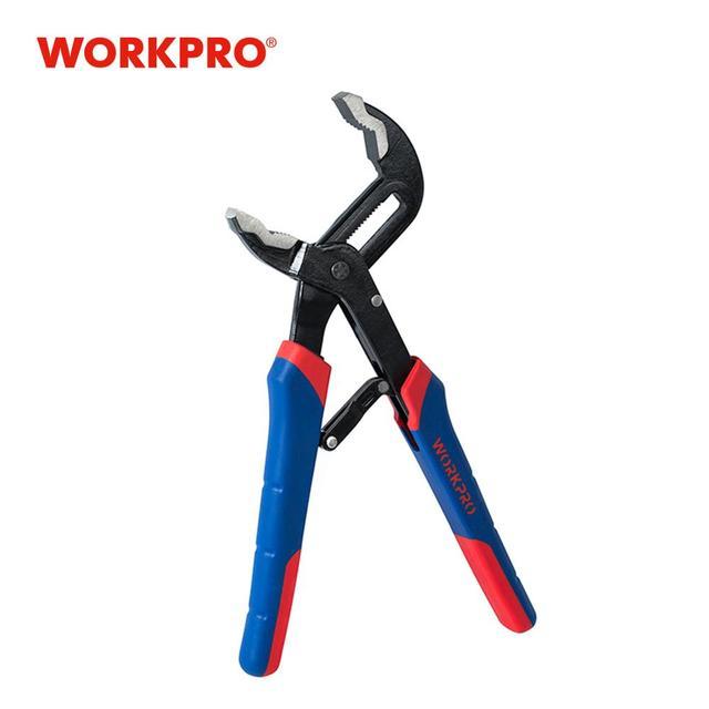 """WORKPRO 10"""" Pump Plier Self Adjusting Groove Joint Pliers Multi Functional Pliers"""